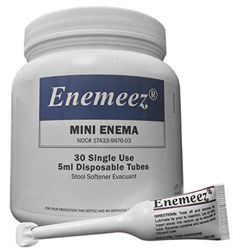 Enemeez MiniEnema, Clear, 0.16 Fl Oz, 30 Count