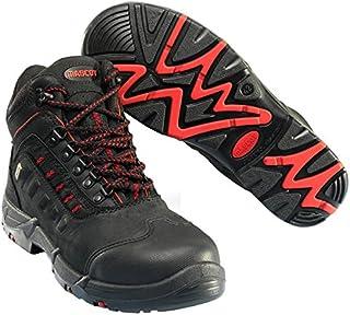 Mascot F0025-901-0902-1142 Kenya Safety Boot, W11/42, Black