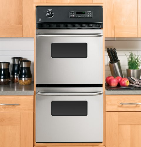 GE JRP28SKSS 24-inch double wall oven