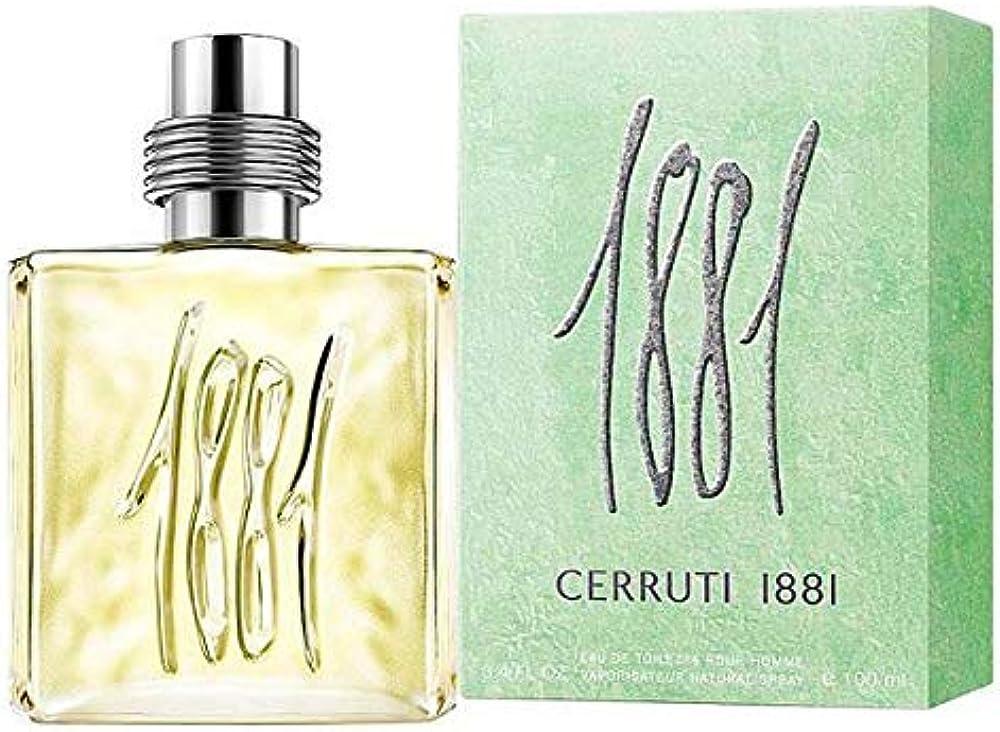 Cerruti 1881,eau de toilette,profumo per uomo,100 ml 688575003659