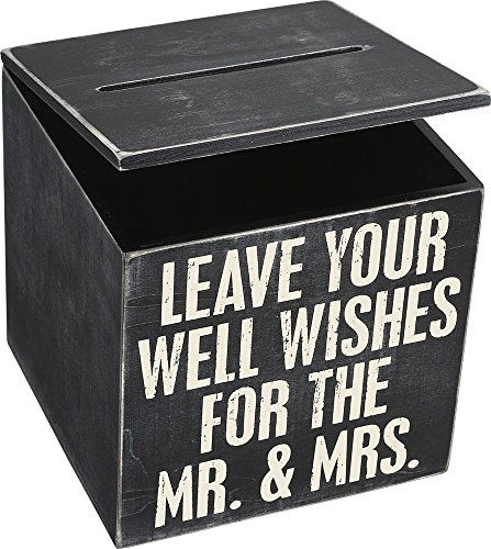 Primitives by Kathy Wedding Card Box, 8 x 8