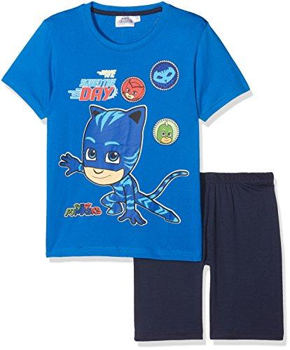PJ Masks Chicos Pijama Mangas Cortas - Azul - 104