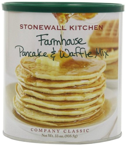 Stonewall Kitchen Farmhouse Pancake and Waffle Mix, 33-Ounce Can
