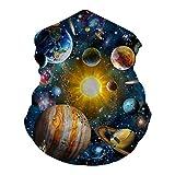 Adults Bandanas Solar System Space Planet Face Masks Dust Tube Neck Gaiter...