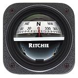 RITCHIE V-537W EXPLORER BULKHEAD MT COMPASS WHT DIAL