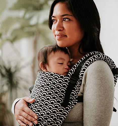 Baby Tula - Free-to-grow TEMPO Marsupio regolabile per neonati, ergonomico, con diverse posizioni per 3,2-20,4 kg
