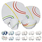 Camping dinnerware made with melamine, 16pieces, for 4people (various designs and colours available)