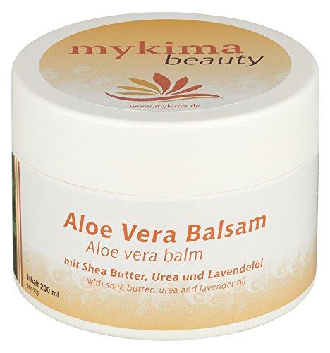 mykima Aloe Vera Balsam | Feuchtigkeitsspendend | Ideal bei trockener Haut oder Sonnenbrand | 200 ml