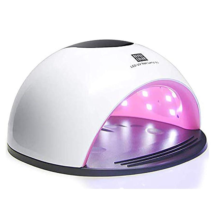 寺院ハリケーン協同ジェルネイル用UVネイルランプ - 80W LED乾燥機の高速化36個のUVランプビーズや赤外線自動センサー付きカーリングジェルポリッシュ、手の爪&足の爪のポーランドサロンネイルアートのためのビッグスペース