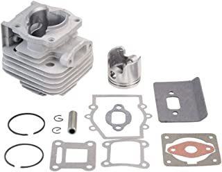 GOOFIT 40mm Bore Complete Cylinder Kit with Piston for 2 Stroke 43cc Gas Scooter Pocket Bike Mini