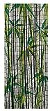 Wenko 819111500 - Cortina de bambú, Puesta del Sol, bambús, Multicolor, 200 x 90 x 0.2 cm