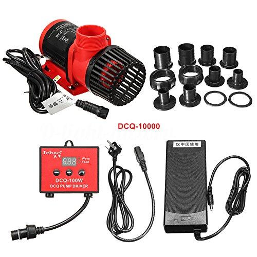 Jebao DCQ Series (3500-10000) Adjustable Wave Pumps w/Controller (DCQ-10000 (80W, 2641gph))
