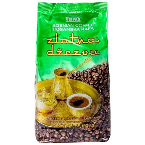 VISPAK ZLATNA DZEZVA BOSNIAN COFFEE 907g (2LBS) by N/A