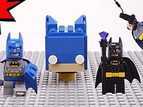 Clip: Blue Batman vs. Bad Batman Brick Building Brickheadz with Alfred