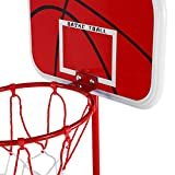 minifinker Kit de Baloncesto para niños Desmontable y portátil, para Courtyard Park Beach