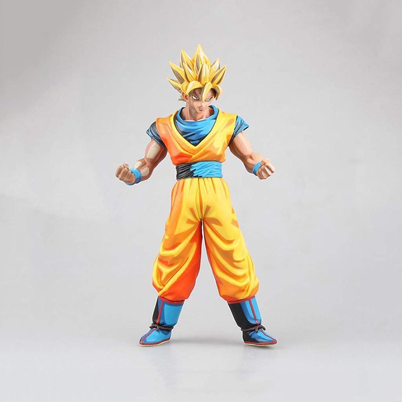 mejor marca QCRLB Dragon Ball Anime Estatua súper súper súper Saiyan Wukong Modelo de Juguete Comic Color PVC Exquisito Anime Decoración Colección de Artesanía -10.6in Modelo de Juguete  Envío rápido y el mejor servicio