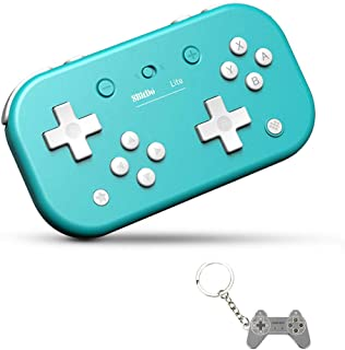 AKNES Lite Bluetooth Wireless Controller Gamepad for Nintendo Switch & Lite, Nintendo Switch & Windows, Steam, Raspberry Pi (Turquoise Edition)