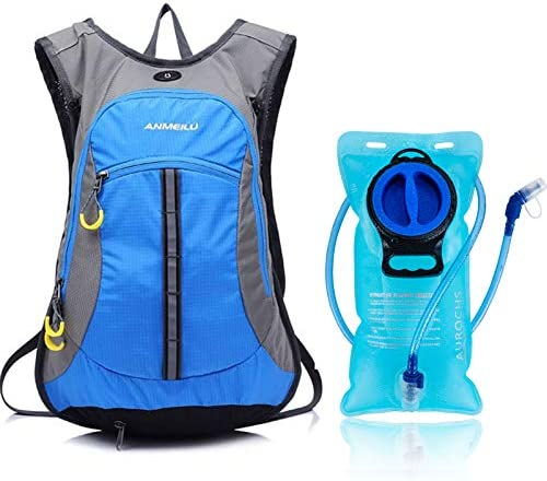 ANMEILU Hydration Pack Backpack Bike Backpack with 2L Water Bladder 15L Small Lightweight Ski product image