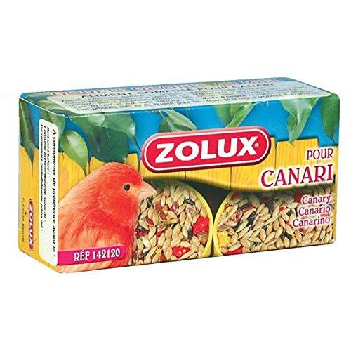 ZOLUX - Graines pour CANARIS 45 Gr Godets de graines au MIEL spécial CANARIS x 2