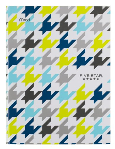 """Five Star Composition Book / Notebook, College Ruled Paper, 100 Sheets, 9-7/8"""" x 7-1/2"""",Hardbound, Blue (72838)"""