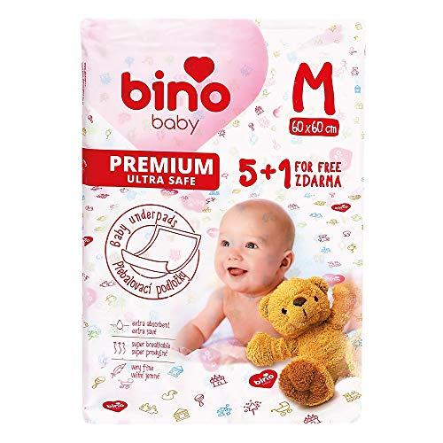 Bino Mertens 300001 - Baby Wickelauflage M 5+1 Kostenlos, Weiß