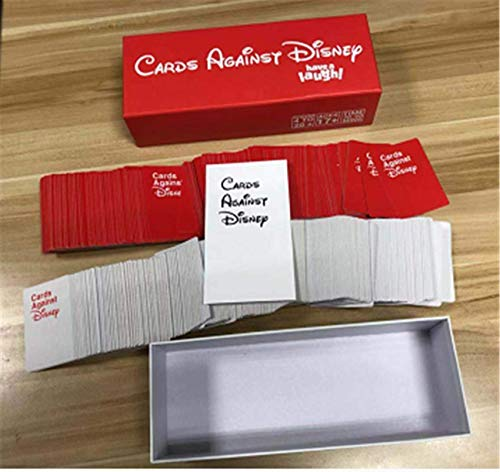 Flow.month Cards Against Disney Your Childhood Table Card Games Adult Party Game Red Box