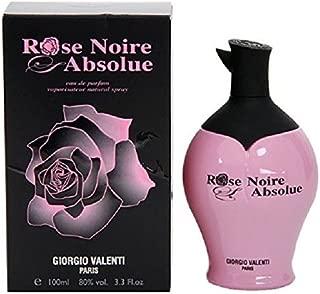 Giorgio Valenti Rose Noire Absolue Women Eau De Parfum Spray, 3.3 Ounce (Pack of 3)
