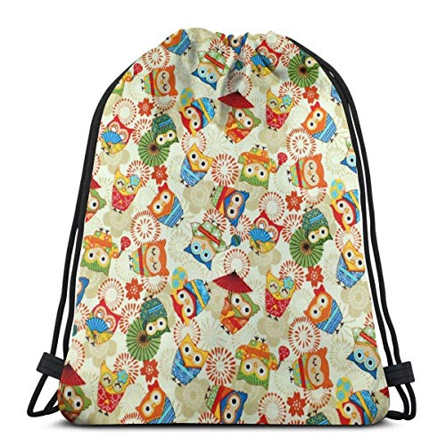 Lawenp Vintage Sun and Moon Unisex Outdoor Gym Sack Bag Sport Drawstring Backpack Bag