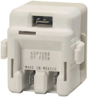 Edgewater Parts 61005518 Refrigerator Compressor Overload and Relay Kit, Compatible With Whirlpool, Maytag, Magic Chef, Crosley, Amana, Replaces 1194680, 12002782, 61005518, AP4009659