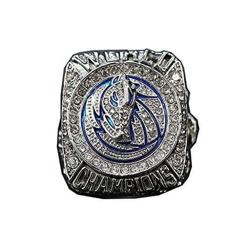 TYTY NBA 2011 Championship Ring Campeonato, campeones Anillo de réplica para Aficionados Colección del Regalo del Recuerdo de los Hombres,Without Box,11