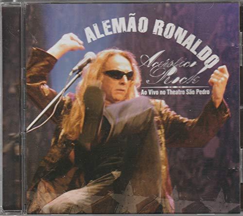 CD Alemão Ronaldo Acústico Rock Ao Vivo No Theatro São Pedro