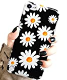 ipod 5 bumpers with clear back - J.west iPod Touch 7 Case, iPod Touch Case 6th Generation, iPod 5 Case,Floral Design Slim Anti-Scratch Flexible Soft TPU Bumper Back Protective Case for iPod Touch 5th/6th/7th Generation -Blossom