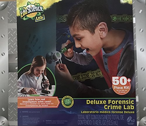 Toys R Us Edu Science Deluxe Forensic Crime Lab