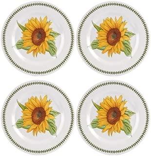 Portmeirion 616035 Botanic Garden Set of 4 Melamine Dinner Plates, 11