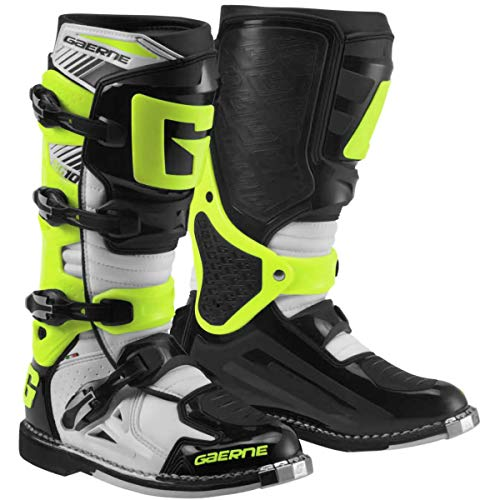 Gaerne SG-10 Boots (11) (White/Black/Yellow)