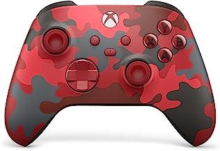 وحدة تحكم لاسلكية من مايكروسوفت متوافقة مع Xbox Series X داي سترايك لون احمر واسود ورمادي مموه
