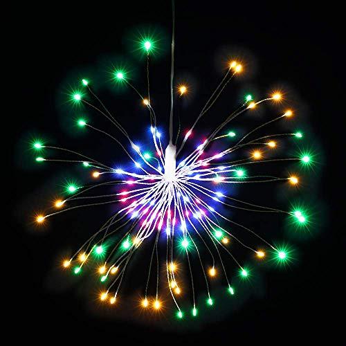 Luces LED de Fuegos Artificiales