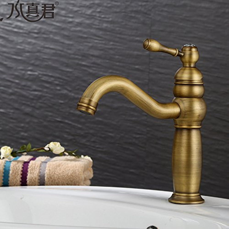 Lvsede Bad Wasserhahn Design Küchenarmatur Niederdruck Warmes Und Kaltes Badezimmerschrankbecken Kann Retro-Becken I379 Gedreht Werden