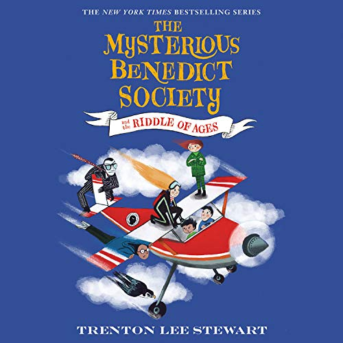 The Mysterious Benedict Society and the Riddle of Ages Audiobook By Trenton Lee Stewart cover art