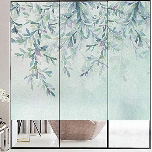Window Film Privacy Washington Mall Tree Leaf Covering Static Windo Cling Surprise price