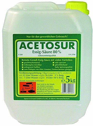 Acetosur Essig-Säure 80%