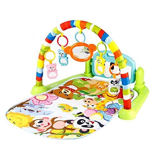 Tapis de Jeu éducatif pour bébé Tapis de Jeu pour bébé avec Clavier de Piano et Tapis de Jeu pour Animaux Mignons