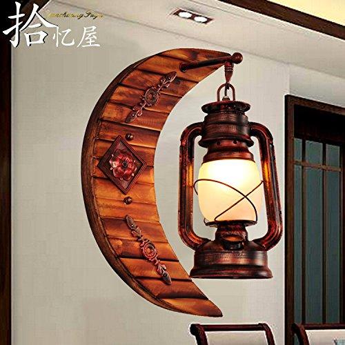 Lámpara De Pared Aplique De Pared Iluminacion De Pared Luces De Pasillo De Arte De Bambú Antiguo Chino Luces De Pasillo Creativo Balcón Balcón Luces De Bar Lámpara De Pared Retro De País Americano