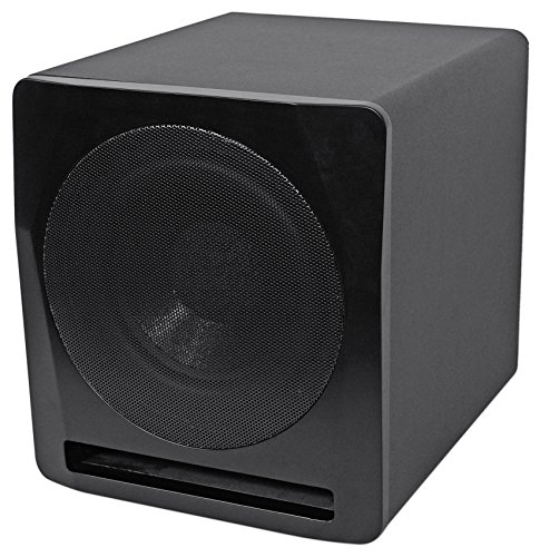 "Rockville Apm10b 10"" 400W Powered/Active Studio Subwoofer Pro Reference Sub"