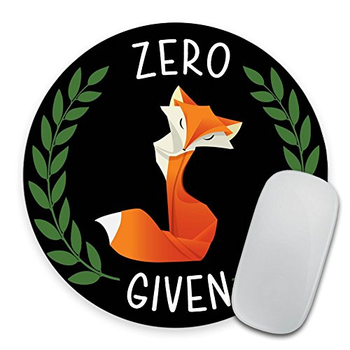 Zero Fox Given Mousepad, Chalkboard Fox Mouse Pad, Chalk Zero Fox Given Mousepad, Funny Mousepad, Gift for Guy, Funny Gifts, Mouse Pad