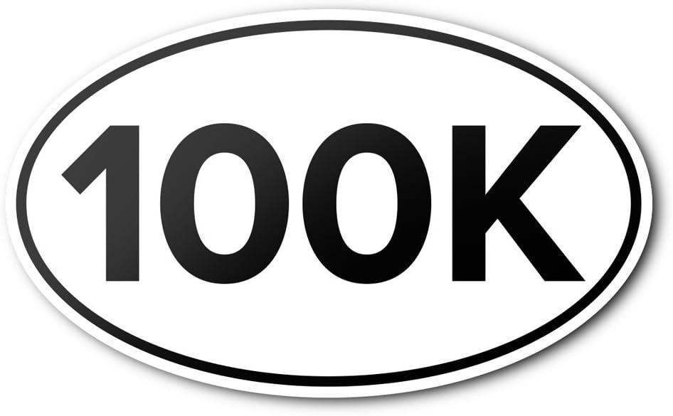 Meister 100K Ultra Anti-UV Vinyl Oval Runni Bumper - Sticker Car A surprise price Popular is realized