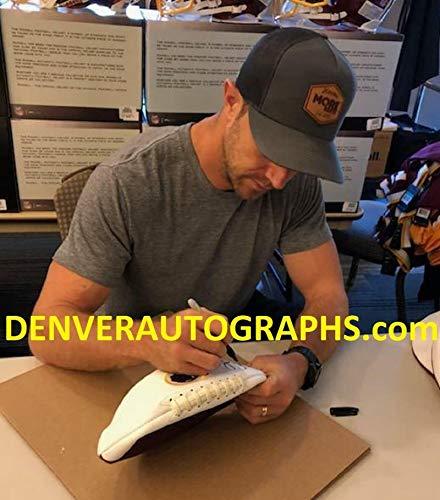 Alex Smith Autographed/Signed Washington Redskins Logo Football BAS