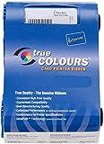 Nastro a colori 800011-140 YMCKO per stampante per card Zebra ZXP serie 1 ZXP1 100 stampe Compatibile con nastro 800011-140