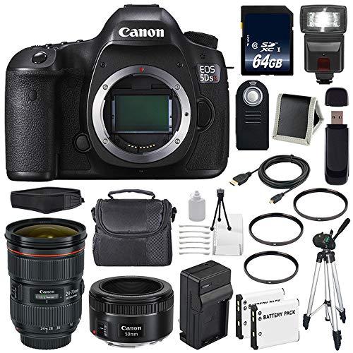 Review Canon EOS 5DS R DSLR Camera (International Model) 0582C002 + Canon EF 24-70mm f/2.8L II USM L...