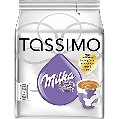 Bosch Tassimo Milka Hot Chocolate T Disc Coffee Machine Capsules